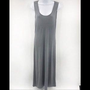 Banana Republic Maxi Long Gray Rayon Knit Dress S